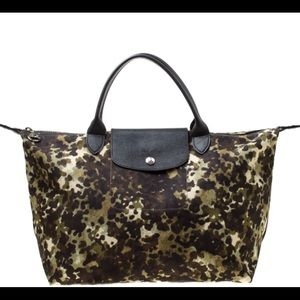 Longchamp CAMO nylon medium le pliage tote